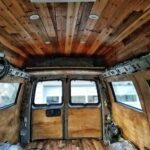 Creating Our Mobile Log Cabin: Easy Steps to Staining a Van