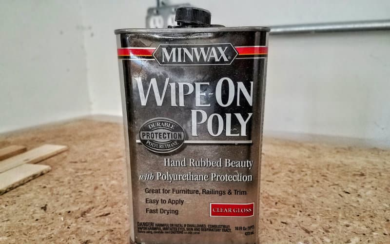wipe on poly