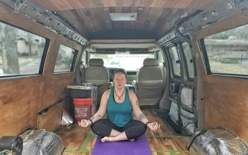 yoga in van