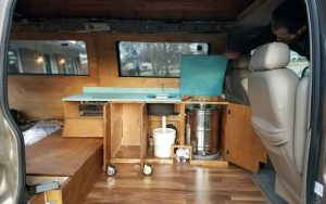 whats in our van kitchen