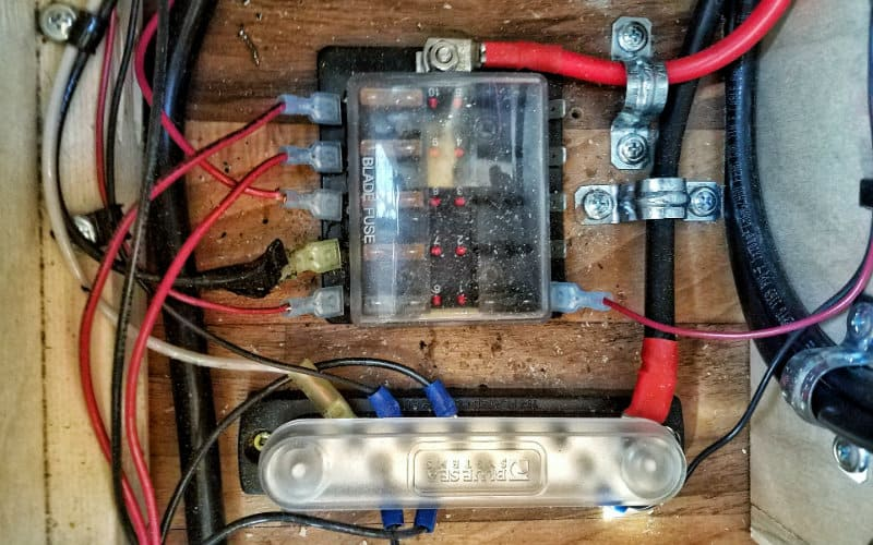 fuse box - horizontal