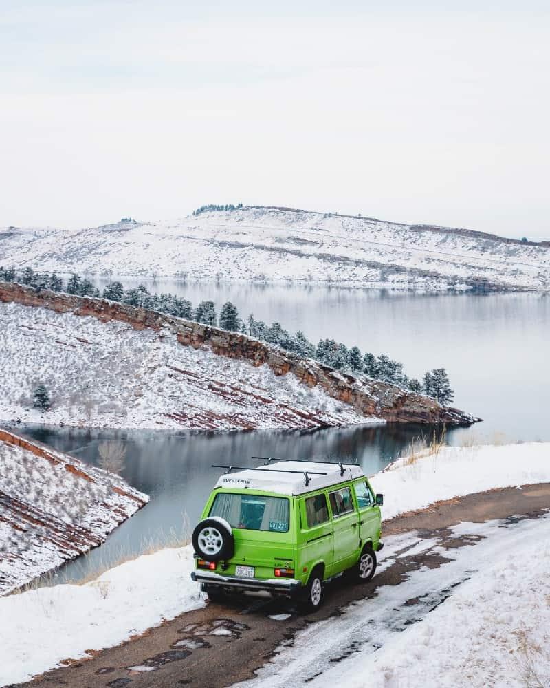Josiahq Van Life in Winter