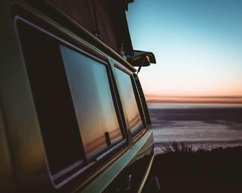 josiahq vanlife window coast