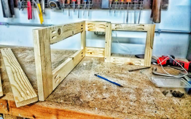 How to Make Your DIY Van Build Easier with Pocket Holes