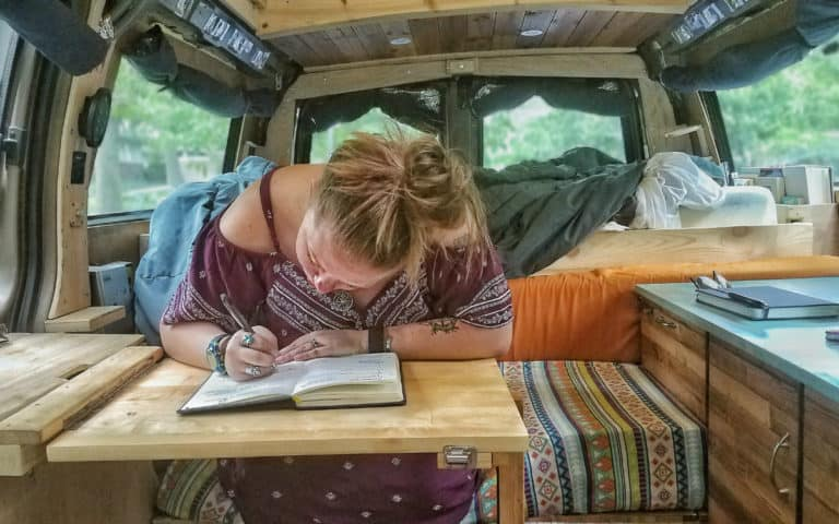 How SELF Journal Can Help You Make the Most Out of Van Life
