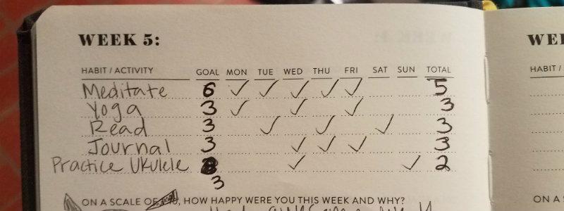 habit tracking