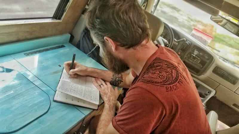 john writing in self journal_800x450