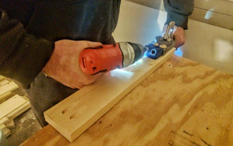 using pocket hole tools
