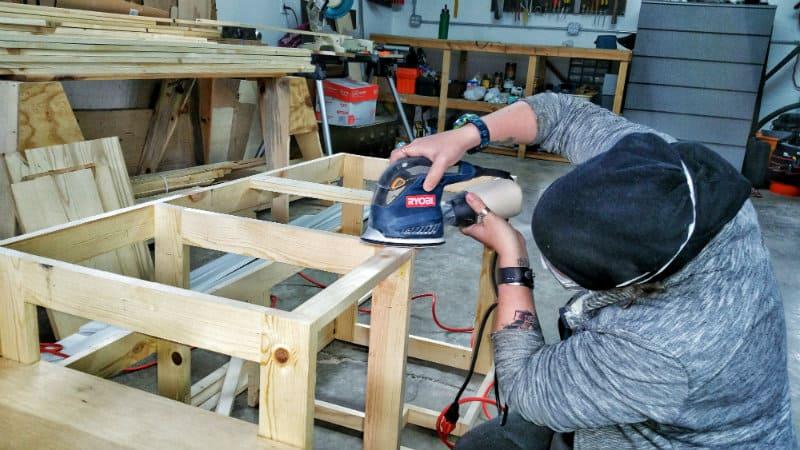 jayme sanding frame