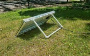 portable solar panel mount pvc