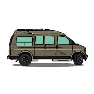 conversion van roof repair