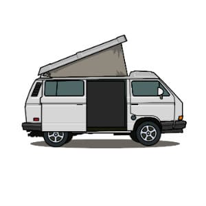 9a59269961 Volkswagen campers are by far the most iconic vehicles in the vanlife  community. They re classics