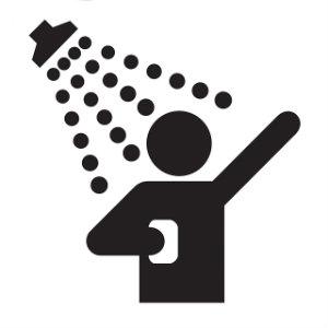 shower symbol