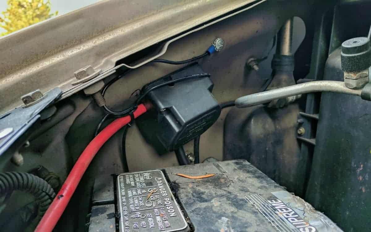 Vanlife Essentials Installing A Smart Battery Isolator Gnomad Home Current Drain Relay