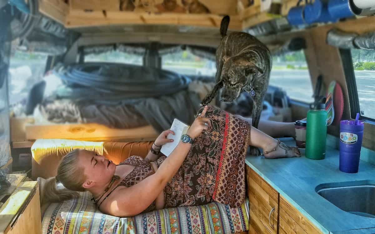Vanlife With Dogs Tips Challenges And Fun On The Road Gnomad Home Way Circuit Breaker Panel Rv World New Zealand