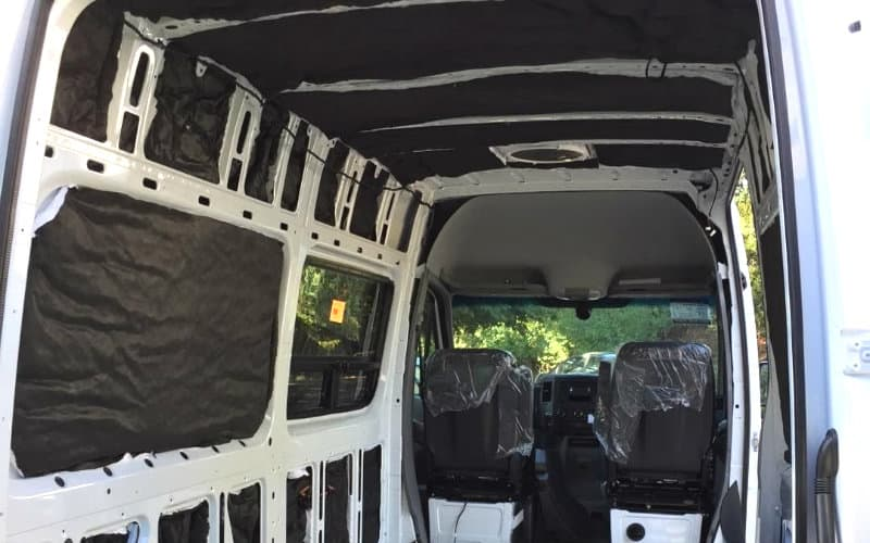 3m thinsulate van insulation by @sprocket3