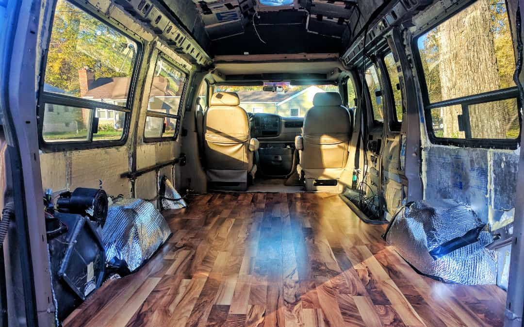 fully insulated van build