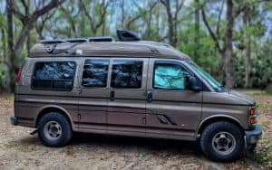 best van for vanlife why conversion van