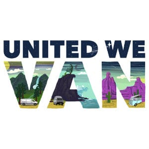 united we van logo