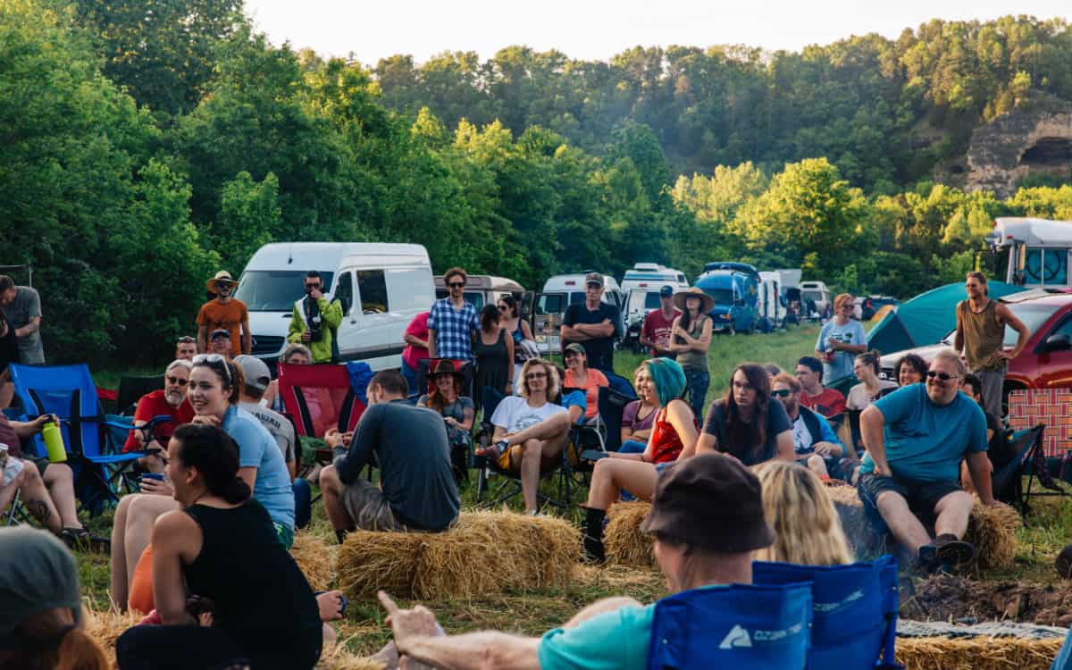midwest vanlife gathering attendees