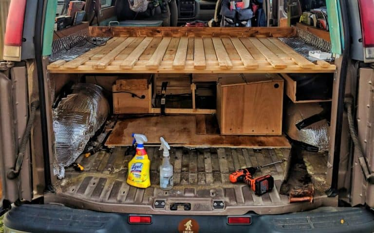 Vanlife Mold Prevention and Redoing Our Floor: Tips and Lessons