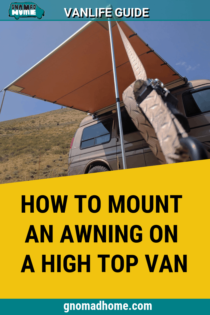 Mounting An Arb Awning On A High Top Van Without A Roof Rack