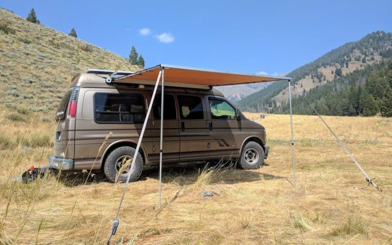 Mounting an ARB Awning on a High Top Van (Without a Roof Rack)