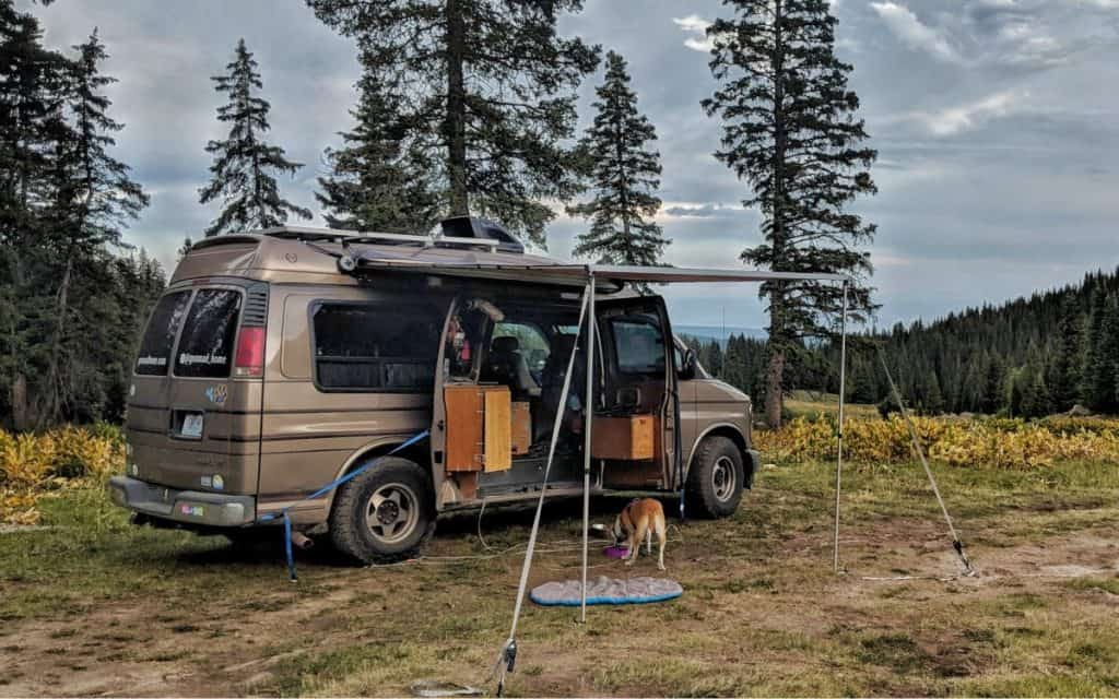 vanlife hacks