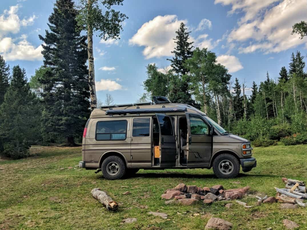 killer vanlife camp spots