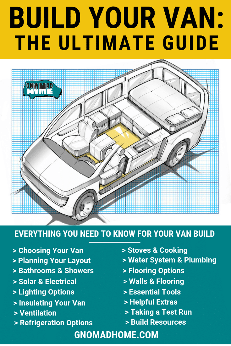 Build Your Van: The Ultimate Van Build Guide for Vanlife