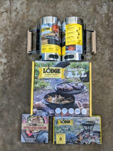 Lodge Cast Iron Cook-It-All and Charcoal Starters