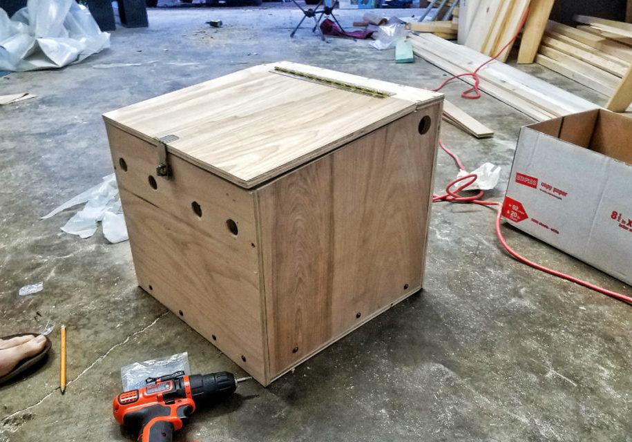 battery box for diy campervan